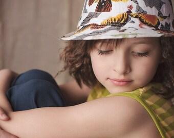 SALE  Kristin Butterfly Fedora Hat