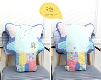 Decorative pillow toy elephant
