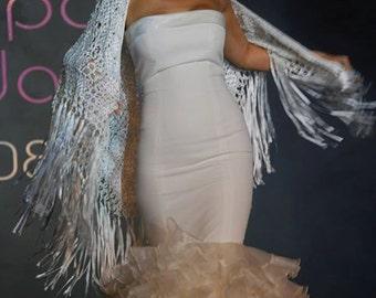 Special bridal Flamenco dress