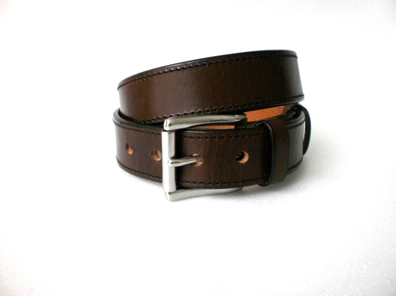 leather gun belt 1 5 heavy duty 1 4 thick