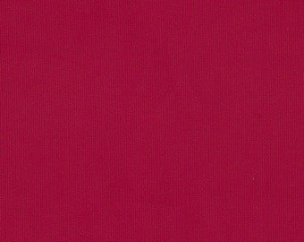 "Red  Fine Wale Corduroy 60"" width  by Fabric Finders"