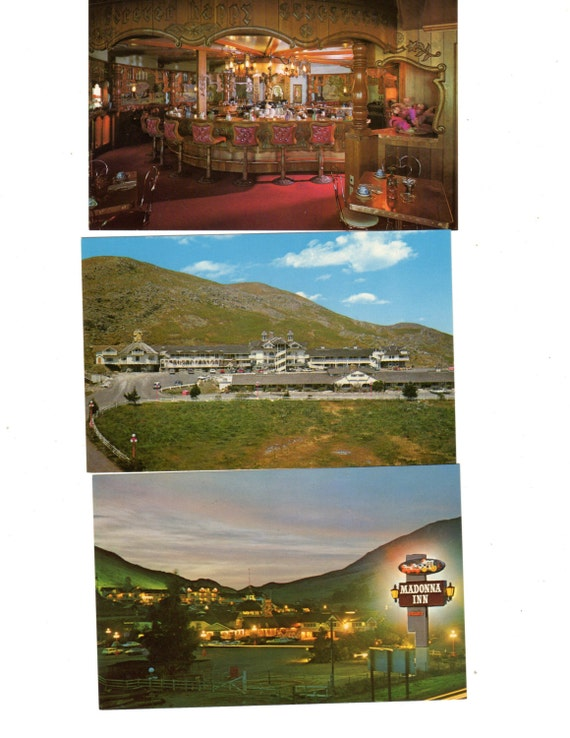 Madonna Inn Phots Lot of 10