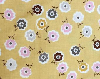 Yellow Daisy Cottage Fabric for Riley Blake Fabrics