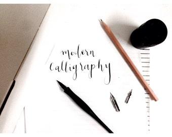 Popular Items For Beginner Calligraphy On Etsy