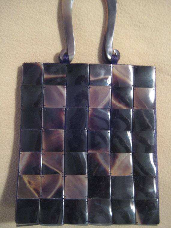 VTG Lucite Panel Purse by Chiraleah.