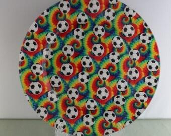 Decorative Soccer Plate