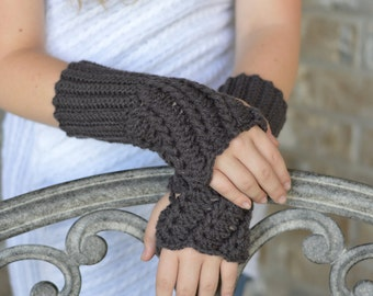 Crochet Fingerless Gloves/Wrist Warmers ***more colors***