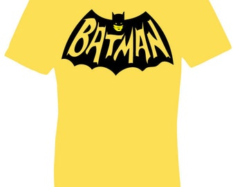 Old Batman Logo shirt