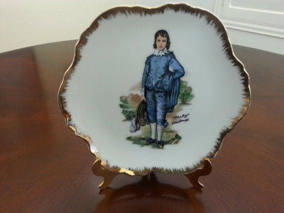Kelvins Exclusives Japan Vintage Blue Boy Plate In Mint