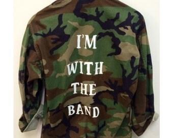 Army Jacket, Camo Jacket, Custom, Custom Jacket, Camouflage Jacket
