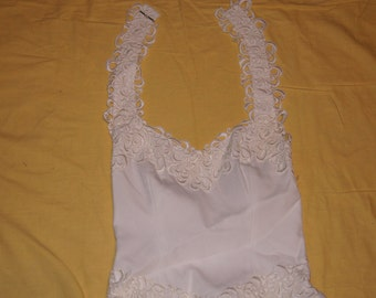 Vintage 1970's - Bridal Original Wedding Dress Union Made Size 10