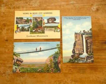 Vintage Lookout Mountain, Georgia Postcards
