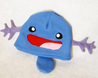 Pokemon Wooper Fleece Hat Plush