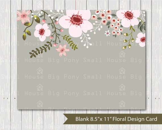 "Flower, wedding, digital card, wedding flowers card, flower bouquet card, graphic design, digital card- 8.5"" x 11"" card"