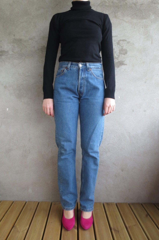 hoch taillierte levi strauss jeans 80er jahre vintage 80er. Black Bedroom Furniture Sets. Home Design Ideas