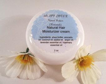 Natural Hair moisturizer cream (rosemary and lavender), Hair cream, Hair Cream Deep Conditioning Treatment, natural hair cream,