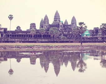 Angkor Wat Photography, Large Wall Art, Siem Reap Cambodia Travel Photography, Home Decor, Picture Gallery