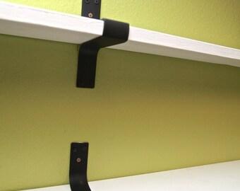 Custom Wrap Around Steel Shelf Brackets
