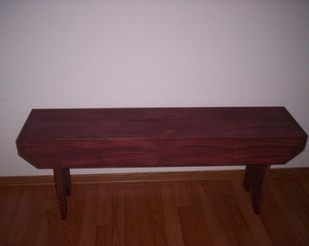 4 ft Wood Bench