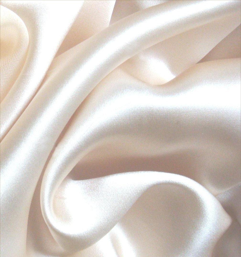 pure silk charmeuse crepe backed satin natural white ivory 19. Black Bedroom Furniture Sets. Home Design Ideas
