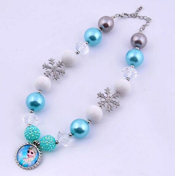Snow Queen Diamontrigue Jewelry: Items Similar To New Arrivals Kid Bubblegum Necklace