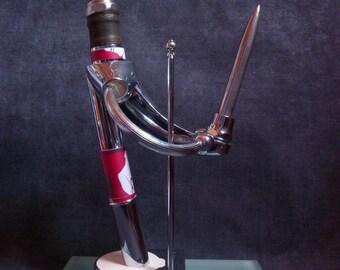 Sculpture metal collection. The smart gentleman
