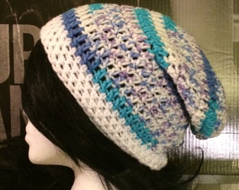 90's Paper Cup Variegated Slouched Beanie