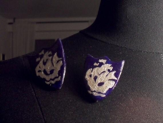 Badge Replica Necklace Badge Replica Blue/silver