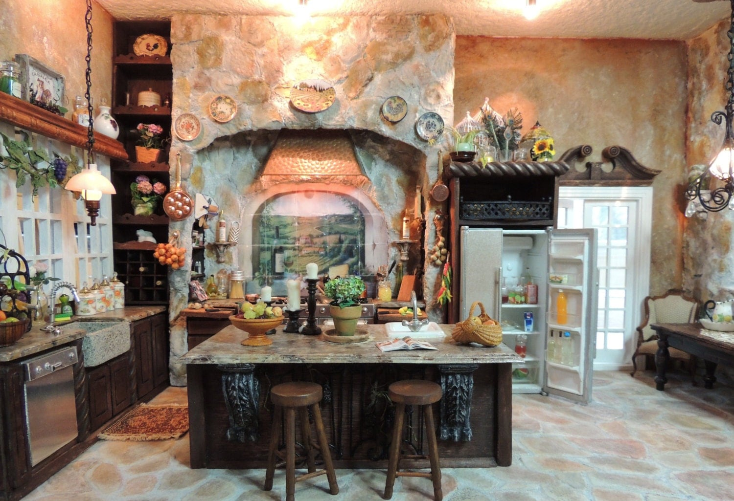 Dollhouse 1 12 Scale Miniature Tuscan By Vintagebutterfly66