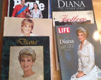 Set of 8 Royal Family Magazines