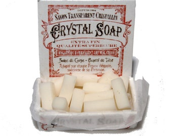 Victorian Style Crystal Soap Display 12th Scale