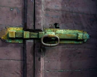 Fine Art Photographic Print • Bolt Lock at Lake Como  Italy  • Limited Edition - Various Sizes and Gallery Wrap Available