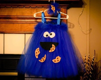 Cookie Monster Tutu Costume