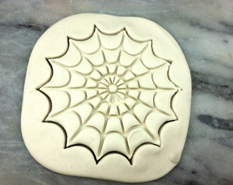 Spider Web Detailed Cookie Cutter - SHARP EDGES - FAST Shipping - Choose Your Own Size!