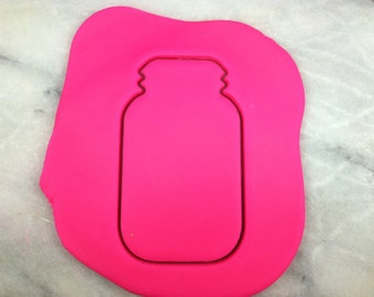 Mason Jar Cookie Cutter - SHARP EDGES - FAST Shipping - Choose Your Own Size!
