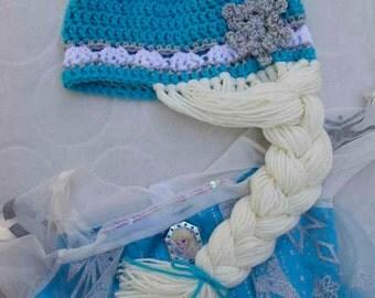 SALE! Frozen Elsa-Inspired Beanie Hat