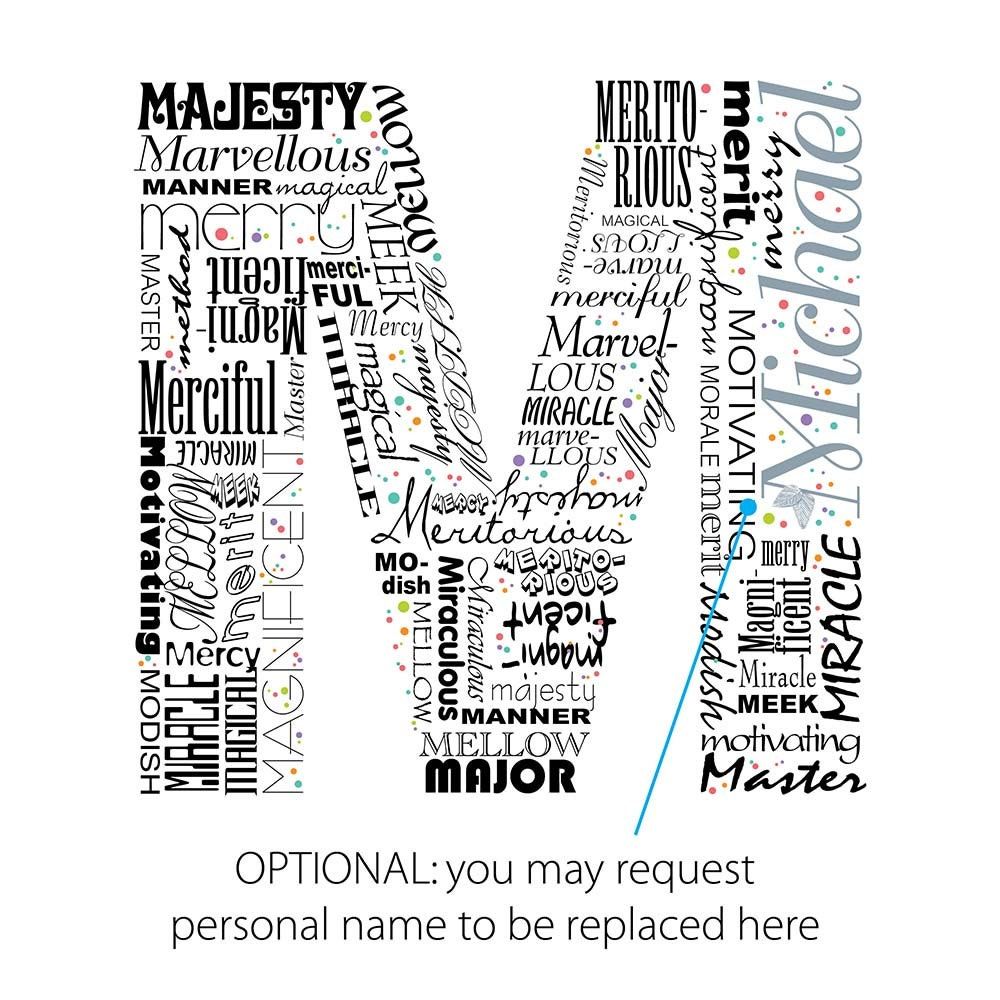 Descriptive Words That Begin With The Letter M