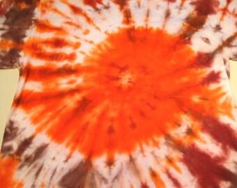 Orange bayou tye dye size small