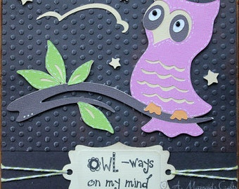 Handmade On My Mind Card