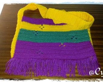 Wool bag of strong and shine colours
