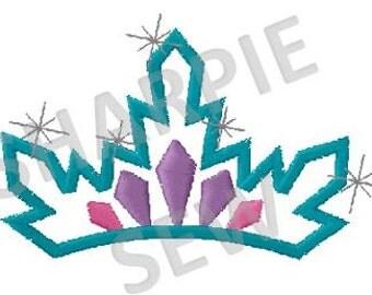 Frozen Kingdom - Queen Tiara Applique INSTANT DOWNLOAD