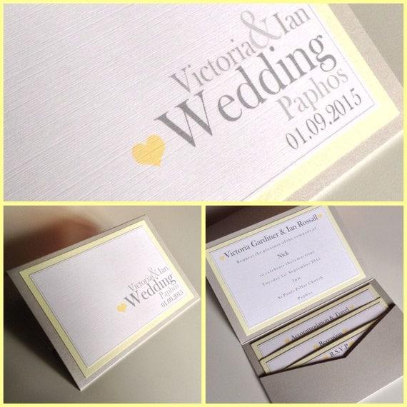 plain simple pocketfold wedding invitations love heart With plain pocketfold wedding invitations