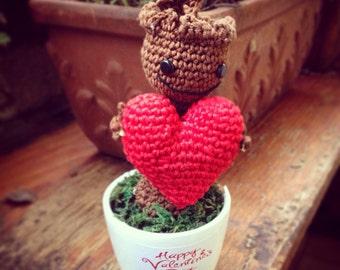 Amigurumi Handmade Baby Groot by NikoWorldHandmade on Etsy