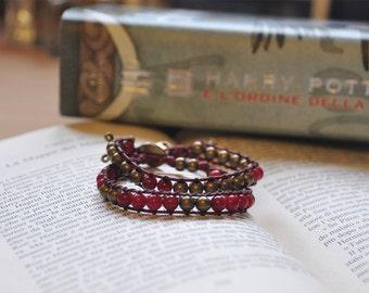Chan Luu Bracelets / Harry Potter / Gryffindor / Grifondoro / Bracciali / Perline.