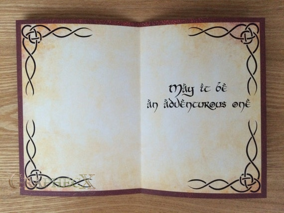 Lord of the Rings Wedding Invitations Part Two BreeCraft