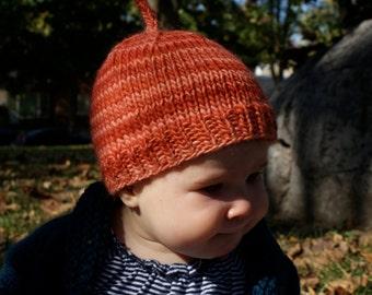 Little Pumpkin Baby Beanie