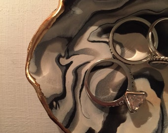 Marble Jewelry Dish
