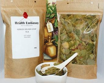 Ginkgo Biloba Leaf Tea - Health Embassy - Organic