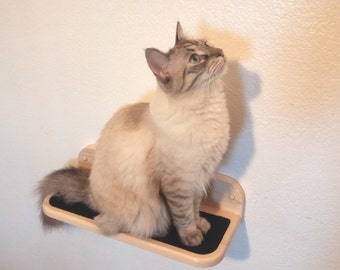 Cat Shelf Step | Shelves, Compact, Finish Options, Cat not Included