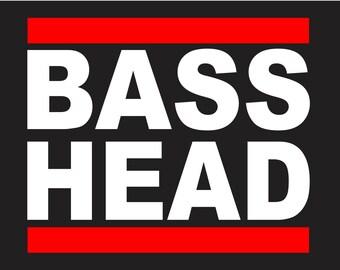Bass Head Bassnectar Dubstep Electronic EDM EDC Techno Vinyl Decal Sticker